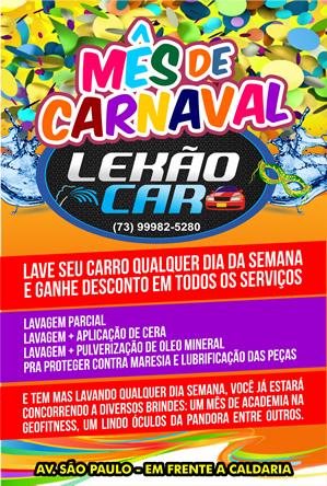 Lecão - carnaval 2018