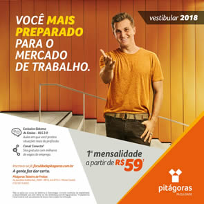 Vestibular Pitagoras 2017.2