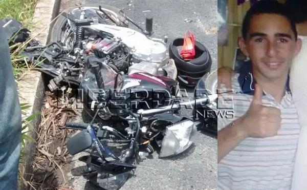 Um morto e um ferido em acidente na BR 101 próximo a Parada do Pedrão em Teixeira