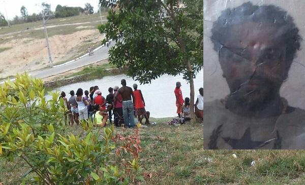 Andarilho é encontrado morto em represa no Bairro Caribe em Posto da Mata
