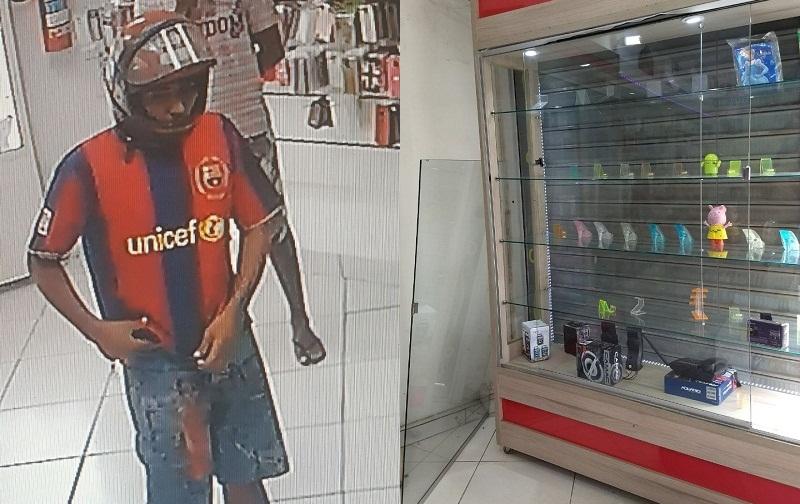 limpa1 - Lojas de celulares viram alvos diários de assaltos e comerciantes pedem socorro em Teixeira